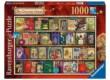Ravensburger 19801- Karácsonyi könyvespolc - 1000 db-os puzzle