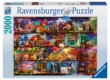 Ravensburger 16685 - A könyvek világa - 2000 db-os puzzle