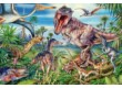 Schmidt 56193 - Amongst the dinosaurs - 60 db-os puzzle