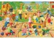Schmidt 56201 - A Day at Playschool - 3 x 24 db-os puzzle