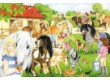 Schmidt 56205 - Fun at the Riding Stables - 60 db-os puzzle