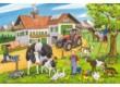 Schmidt 56216 - On the Farm - 3 x 24 db-os puzzle