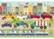 Schmidt 56219 - Colourful World of Vehicles - 3 x 24 db-os puzzle