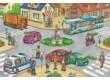 Schmidt 56508 - Verkehrsmittel Puzzle-Box - 2x26+2x48 db-os puzzle fém bőröndben