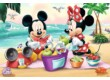 Trefl 14236 - Mickey Mouse és barátai - Piknik a strandon - 24 db-os Maxi puzzle