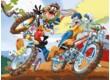 Trefl 18169 - Looney Tunes - Bicikliverseny - 30 db-os puzzle