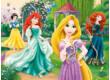 Trefl 18172 - Disney hercegnők - Rapunzel Merida Ariel és Hófehérke - 30 db-os puzzle