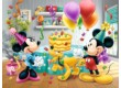 Trefl 18211 - Mickey Mouse és barátai - Születésnapi torta - 30 db-os puzzle