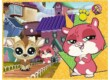 Trefl 34295 - Littlest Pet Shop - 4 az 1-ben (54, 80, 104 db-os) puzzle