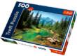 Trefl 37117 - Kilátás a Tátrában - 500 db-os puzzle