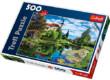 Trefl 37193 - Chiemsee tó, Bajorország - 500 db-os puzzle