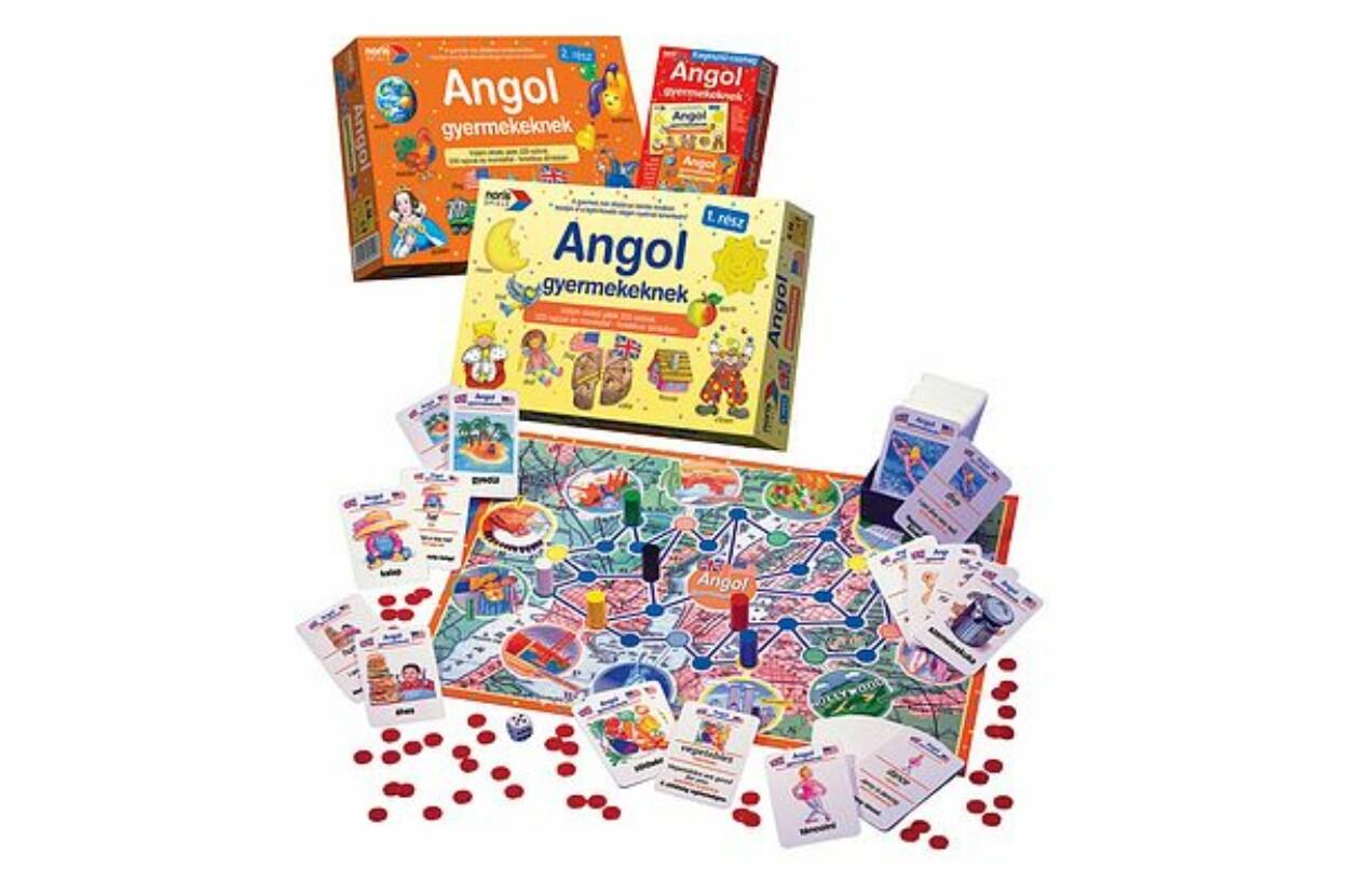 Noris 6077097 - Angol gyermekeknek oktató társasjáték 2. rész b8d4bb21e9