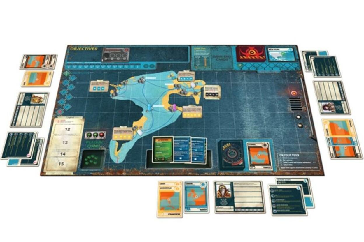 Pandemic - Legacy 2. évad társasjáték - sárga doboz (103309) ba392d2b77