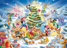 Ravensburger 19287 - Disney karácsonya - 1000 db-os puzzle