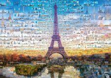 Schmidt 59580 - Paris - 1000 db-os puzzle