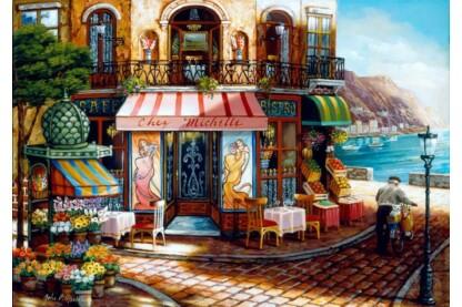 Bluebird puzzle 70124 - Chez Michelle - 1000 db-os puzzle