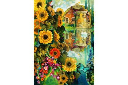 Bluebird puzzle 70205 - A Lively View in Kent - 1000 db-os puzzle