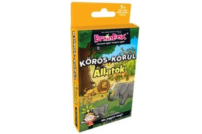 BrainBox 93688 - Körös-körül állatok kártyajáték