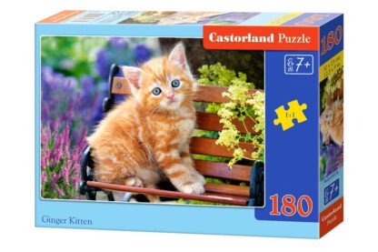 Castorland B-018178 - Vörös kiscica - 180 db-os puzzle