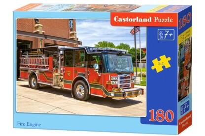 Castorland B-018352 - Tűzoltóautó - 180 db-os puzzle