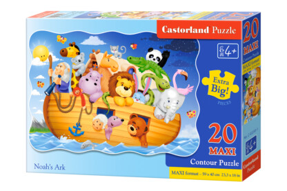 Castorland C-02245 - Noé bárkája - 20 db-os Maxi puzzle