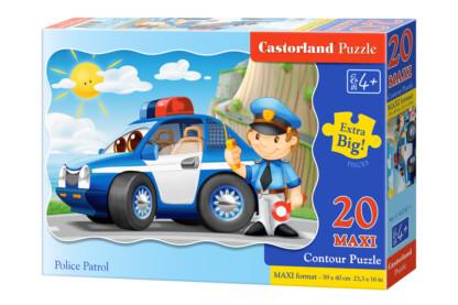 Castorland C-02252 - Rendőrségi őrjárat - 20 db-os Maxi puzzle