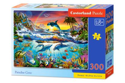 Castorland B-030101 - Paradicsom öböl - 300 db-os puzzle