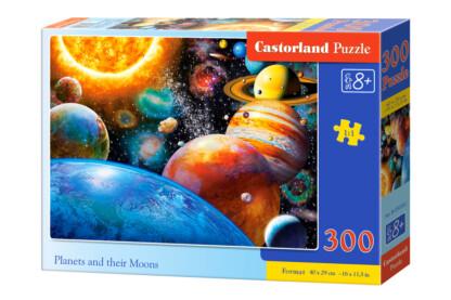 Castorland B-030262 - Bolygók és holdjaik - 300 db-os puzzle