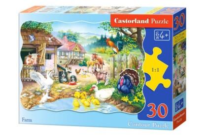Castorland B-03310 - Farm - 30 db-os puzzle