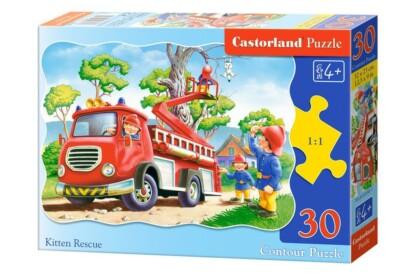 Castorland B-03358 - Cica mentés - 30 db-os puzzle