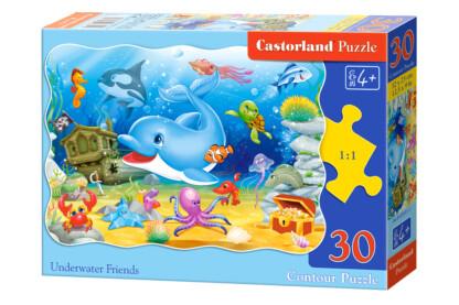 Castorland B-03501 - Víz alatti barátok - 30 db-os puzzle