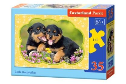 Castorland B-035205 - Rottweiler kölykök - 35 db-os puzzle