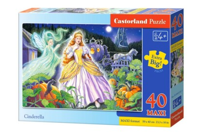 Castorland B-040155 - Hamupipőke - 40 db-os Maxi puzzle