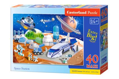 Castorland B-040230 - Űrállomás - 40 db-os Maxi puzzle