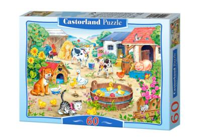 Castorland B-06663 - Farm - 60 db-os puzzle