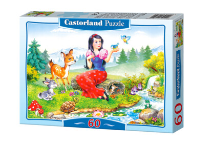 Castorland B-06557 - Hófehérke - 60 db-os puzzle