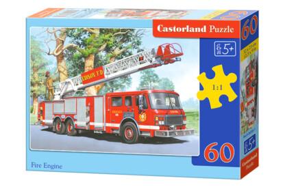 Castorland B-06595 - Tűzoltóautó - 60 db-os puzzle