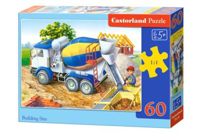 Castorland B-06618 - Építkezés - 60 db-os puzzle