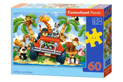 Castorland B-06793 - Safari - 60 db-os puzzle