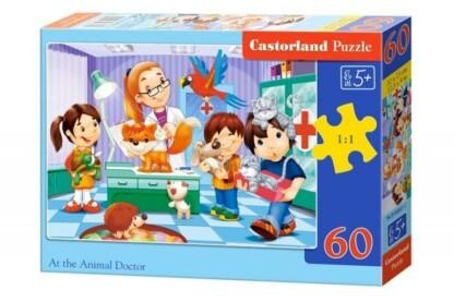 Castorland B-06847 - Az állatorvosnál - 60 db-os puzzle