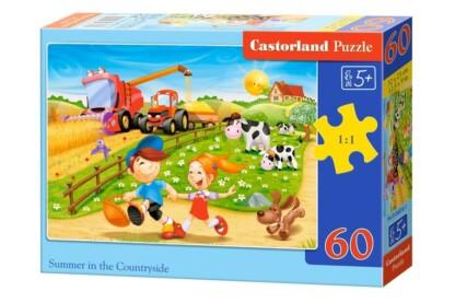Castorland B-06878 - Nyáron a vidéken - 60 db-os puzzle