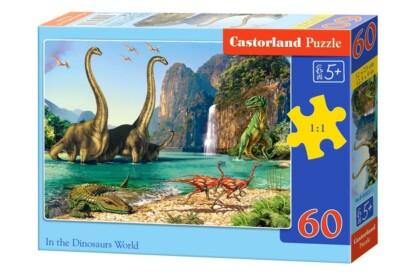 Castorland B-06922 - A dinoszauruszok világában - 60 db-os puzzle