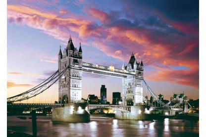 Castorland C-101122 - Tower Bridge, London, Anglia - 1000 db-os puzzle
