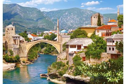 Castorland C-102495 - Mostar, Bosznia- Hercegovina - 1000 db-os puzzle