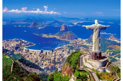 Castorland C-102846 - Rio de Janeiro, Brazília - 1000 db-os puzzle