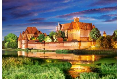 Castorland C-103010 - Malbork Kastély, Lengyelország - 1000 db-os puzzle