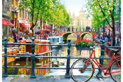 Castorland C-103133 - Amszterdam - 1000 db-os puzzle