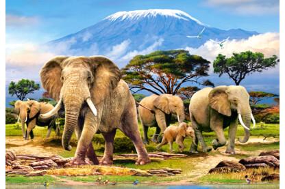 Castorland C-103188 - A Kilimandzsáró reggel - 1000 db-os puzzle