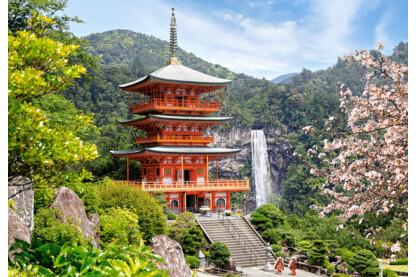 Castorland C-103201 - Seiganto-ji templom, Japán - 1000 db-os puzzle