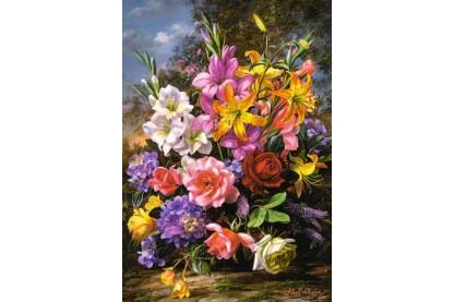 Castorland C-103607 - Váza virágokkal - 1000 db-os puzzle